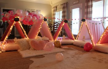 """Throwing a """"Half"""" Sleepover Birthday Party with Southern Sleepovers"""