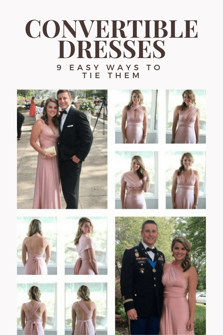 Convertible Dress Styles 9 Ways To Tie A Convertible Dress